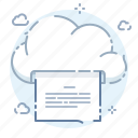 cloud, online, page, print