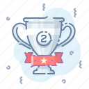 award, cup, silver, winner icon