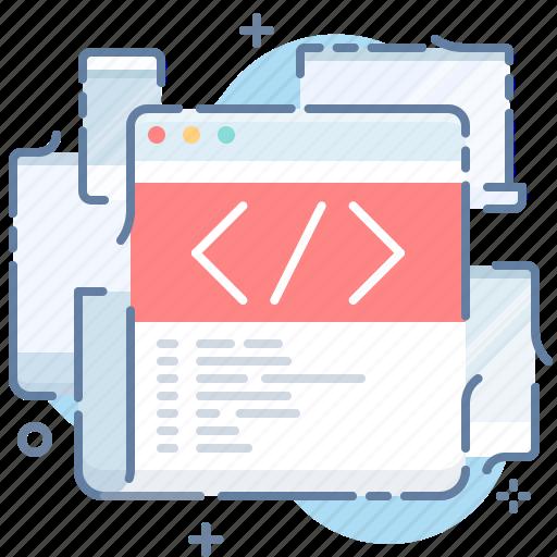 code, html, website icon