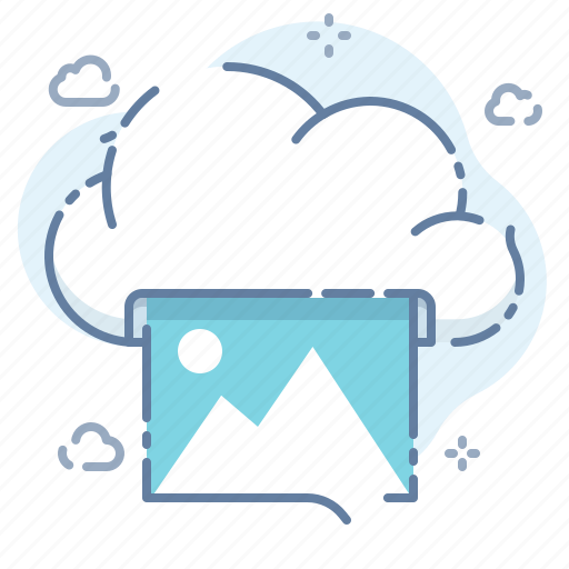 Cloud, photo, print icon - Download on Iconfinder