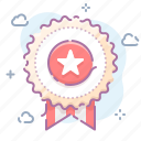 achievement, badge, award