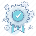 admin, award, settings icon