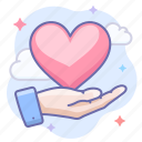 hand, love, valentine