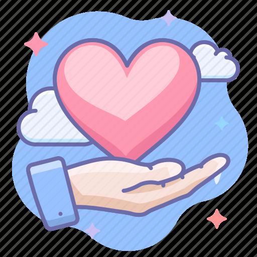 Hand, love, valentine icon - Download on Iconfinder