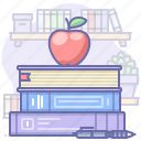 books, education, study icon
