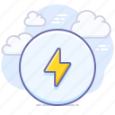 action, charge, charging, lightning icon