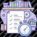 todo, list, deadline, task icon