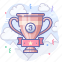 award, bronze, cup icon