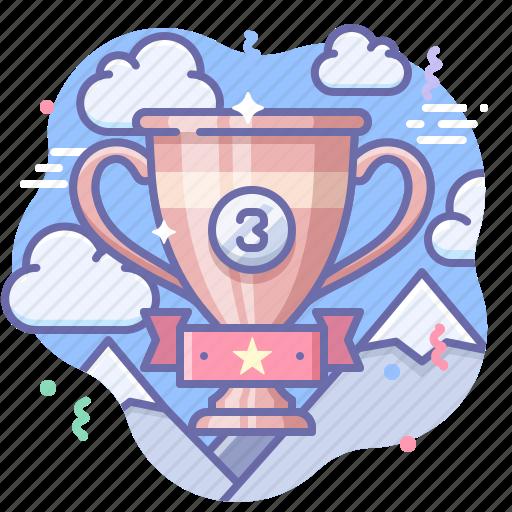 award, bronze, cup icon