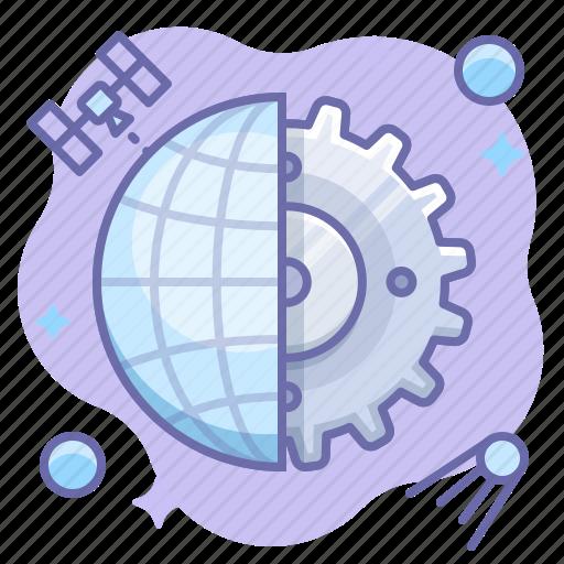 control, internet, web icon