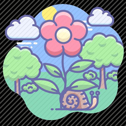 eco, flower, nature icon