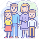 children, family icon