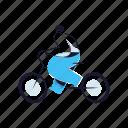 transportation, delivery, bicycle, bike, man, travel