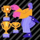 achievements, trophy, award, reward, achievement, accomplishment, winner
