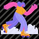 leisure, skating, skate, transportation, fun, hobby, laugh