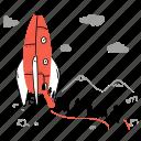 travel, transportation, transport, launch, rocket, migration, ark