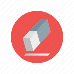 design, draw, erase, eraser, remove, rubber icon