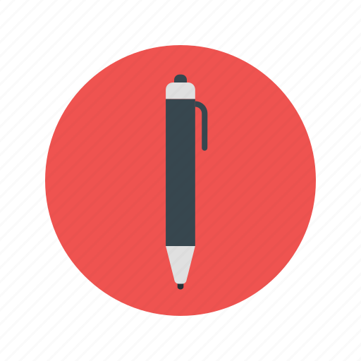 ball pen, business, contract, document, draw, pen, write icon