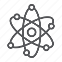 atom, molecule, neutrom, nuclear, proton, science, structure icon