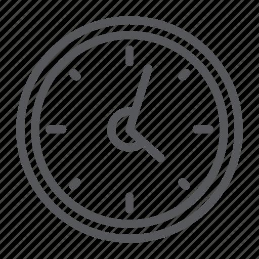 arrow, clock, deadline, hour, time, timer, watch icon