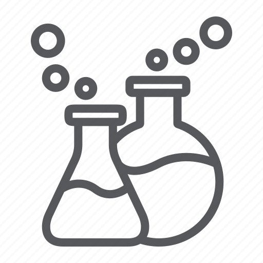 chemical, chemistry, flask, glassware, lab, laboratory, science icon