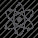 atom, molecule, neutrom, nuclear, proton, science, structure icon