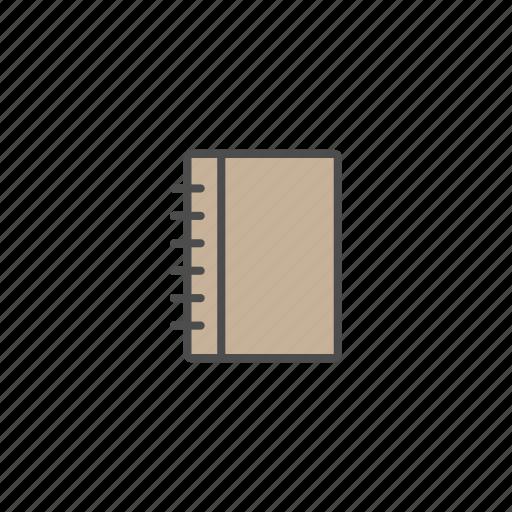 book, children, diary, education, school, student icon