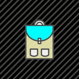 bag, children, school, student icon