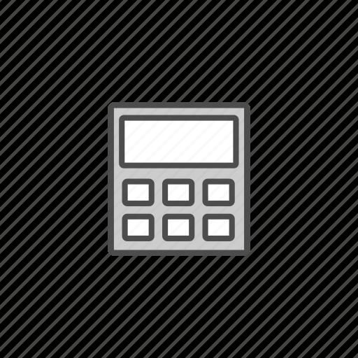 calculator, children, education, school, student icon