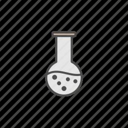 atom, dna, education, lab, school, student icon
