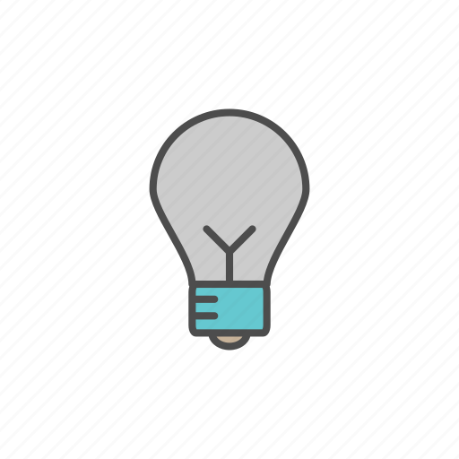 education, lamp, school, student icon