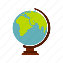 earth, global, globe, map, planet, sphere, world icon