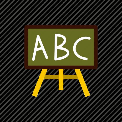 board, class, classroom, education, school, teach, wooden icon