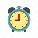 alarm, clock, hour, minute, time, timer, wake icon