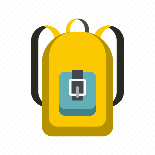 back, backpack, bag, education, pack, school, student icon