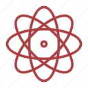 atom, chemistry, school, science icon