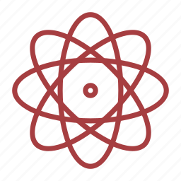 atom, chemistry, school, science icon