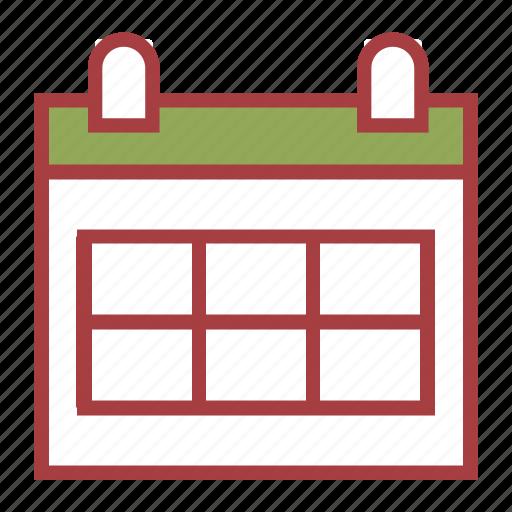 calendar, education, school icon