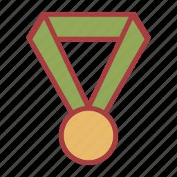 medal, school, sports icon