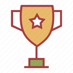 school, sports, trophy icon