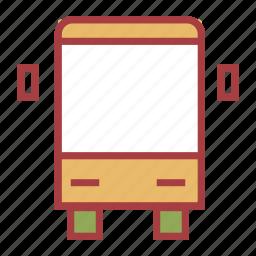 bus, education, school, schoolbus icon
