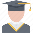 cap, college, graduate, learning, school, student, university