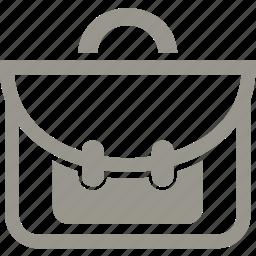 bag, briefcase, education, school icon
