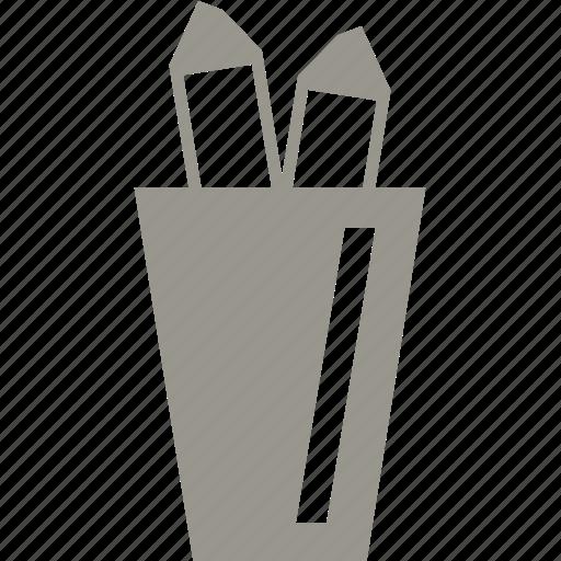 education, pen, pencil, school icon