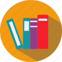 books, education, institute, knowledge, school, science, university icon