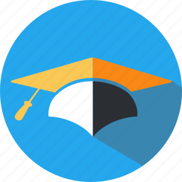 education, hat, institute, knowledge, school, science, university icon