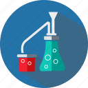 chemistry, education, institute, knowledge, school, science, university icon