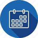 calender, date, month, remind, reminder, schedule icon