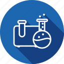 beaker, lab, reserch, science, technology, test, tube icon