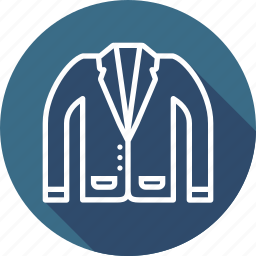 blazer, cloth, fashion, suit, uniform icon